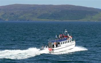 islander underway